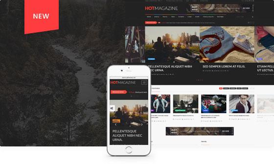 WordPress主题 Hotmagazine 新闻资讯 科技快讯 杂志门户模板汉化[更新至v2.2.0]